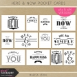 Here & Now Pocket Cards Kit