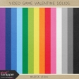 Video Game Valentine Solid Papers Kit