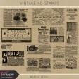 Vintage Ad Stamps Kit