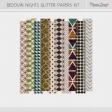 Bedouin Nights Glitter Transparencies Kit