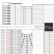 Notebook Paper Templates 1-10 Kit