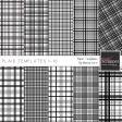 Plaid Paper Templates 1-10 Kit