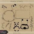Panda Stamps Kit