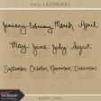 2015 Calendars Kit