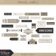 World Traveler Labels Kit