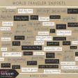 World Traveler Word Snippets Kit