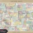 Vintage Maps Kit