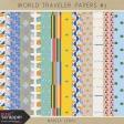World Traveler Papers Kit #3