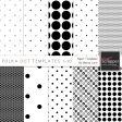 Polka Dot Paper Templates 1-10 Kit