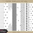 Paper Templates Kit #79