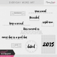 Everyday Word Art Kit