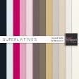 Superlatives Textured Solids Kit