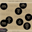 Easter Labels Kit