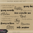 Easter Word Art Kit