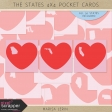 The States 4x4 Pocket Cards Kit