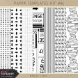 Paper Templates Kit #85