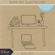 Work Day Illustrations Kit
