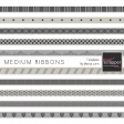Medium Ribbon Templates