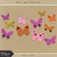 Felt Butterflies Kit