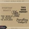 A Bug's World Word Art Kit