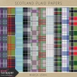 Scotland Plaid Papers Kit