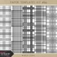 Paper Templates Kit #89 - Plaids