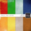 Fall In Love Solid Papers Kit