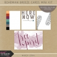 Bohemian Breeze Pocket Card Mini Kit