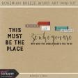 Bohemian Breeze Word Art Mini Kit