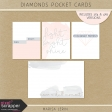 Diamonds Pocket Cards Kit