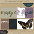 Autumn Day Pocket Cards Kit