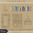 Fine Print Templates Kit