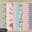 Fine Print Papers Kit