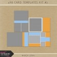 4x6 Card Templates Kit #2
