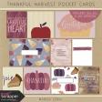 Thankful Harvest Pocket Cards Kit