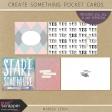 Create Something Pocket Cards