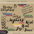 Christmas Day Word Art Kit