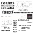Palestine Word Art Kit