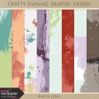 Crafty Evening Painted Papers Kit