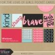 For the Love of Girls Pocket Cards Kit