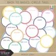 Build Your Basics: Circle Tags