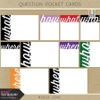 Build Your Basics: Question Pocket Cards