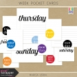 Build Your Basics: Week Pocket Cards