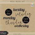 Build Your Basics: Week Word Art