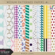 Build Your Basics: Medium Patterned Papers Kit #1