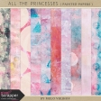 All the Princesses - Painted Papers