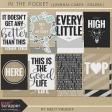 In The Pocket - Filler Journal Cards