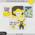 Destination Holland - Journal Cards