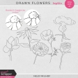 Drawn Flowers - Templates