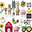 At The Farm Felt Animals Kit